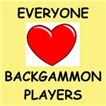 a funny backgammon joke on gifts and t-shirts.