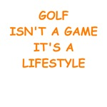 funny golfing joke on gifts and t-shirts.