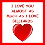 a funny billiards joke on gifts and t-shirts