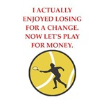 funny tennis game joke on gifts and t-shirts.