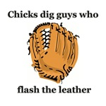 Chicks Dig Guys Who Flash the Leather