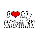 I Love My Softball Kid