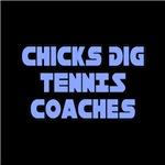Chicks Dig Tennis Coaches