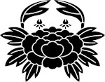 Crab-shaped crest (Kani)