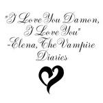 Elena Loves Damon