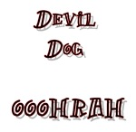 Devil Dog  OOOHRAH design