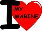 Red2 - I Love My Marine Design