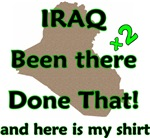 Iraq been there done that x2 here is my shirt desi