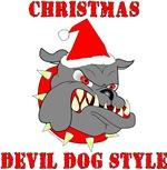 Devil Dog Christmas