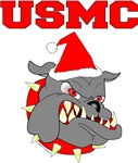 USMC Santa Devil Dog