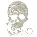 Halloween Silver Skull