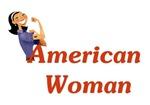 American Woman - Retro Lady