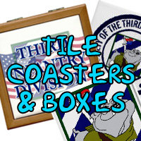 Tile Coasters & Boxes