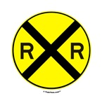 Railroard Crossing Sign