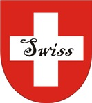Swiss Flag Crest Shield
