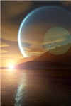 Twin Planets Sunset