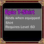 Epic Shirt Level 60