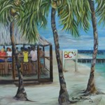 BCs Beach Bar tile gifts,aprons,and bags