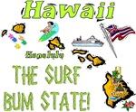 HI - The Surf Bum State!