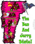 VT - The Ben And Jerry State!