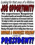 Presidential Job Opportunity