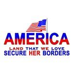 AmerFlag Secure Our Borders