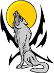 Howling Wolf Tattoo