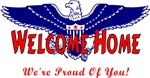 Welcome Home Military Pride T-shirts and Gifts!