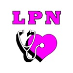 LPN Stethoscope T-Shirts & Gifts!