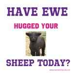 Have you hugged your sheep today!