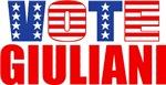 Vote Giuliani (Stars & Stripes)