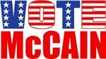 Vote McCain (Stars & Stripes)