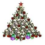 Merry Christmas Skulls 2