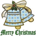 Snowflake Christmas Bells