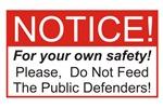Notice / Defenders