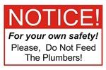 Notice / Plumbers