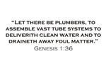 Plumber / Genesis