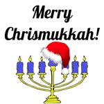 Merry Chrismukkah Menorah