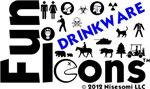 Fun Icons Drinkware