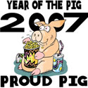 Proud Pig T-Shirt & Gifts
