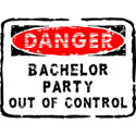 Danger Bachelor Party T-Shirt Gifts