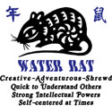 Chinese Zodiac Water Rat T-Shirt