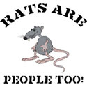 Rats Are People Too T-Shirt