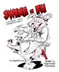 Swine Fu - H1N1 Humor