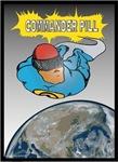 Commander Pill Soars Above Earth