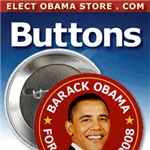 Obama Buttons, Badges & Pins