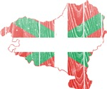 Basque Flag And Map