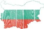 Bulgaria Flag And Map