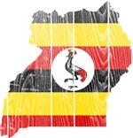 Uganda Flag And Map