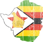 Zimbabwe Flag And Map